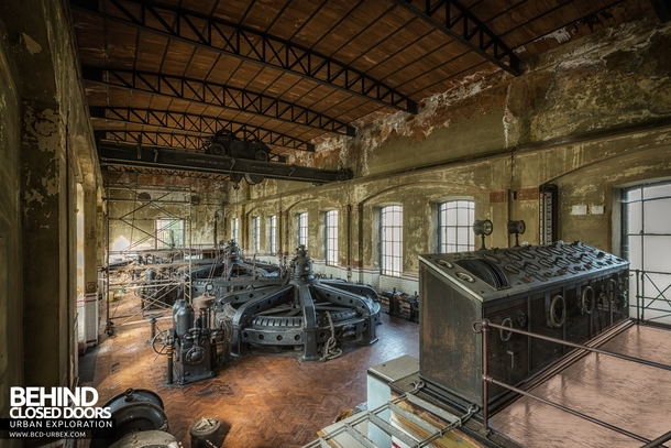 The Black Turbines Of Italy An Abandoned Hydroelectric