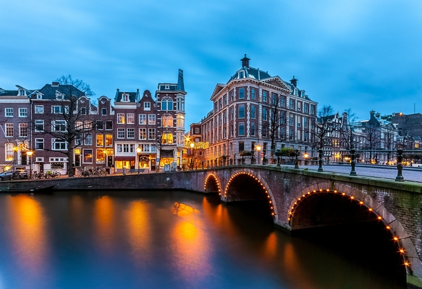 The Canals of Amsterdam  by JoseG MS