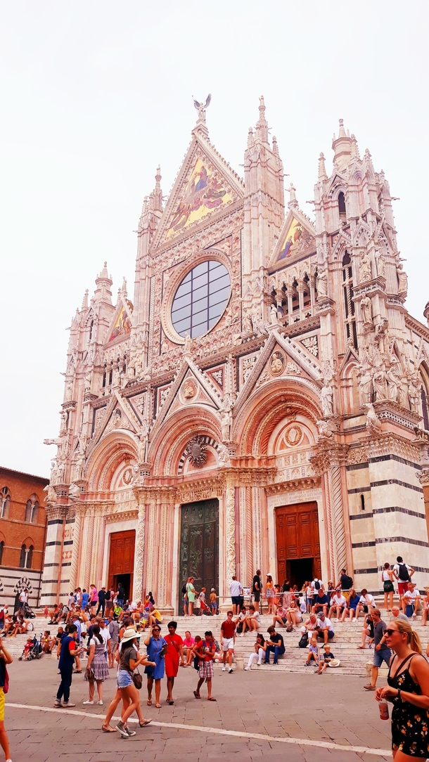 The Cathedral of Siena Italy