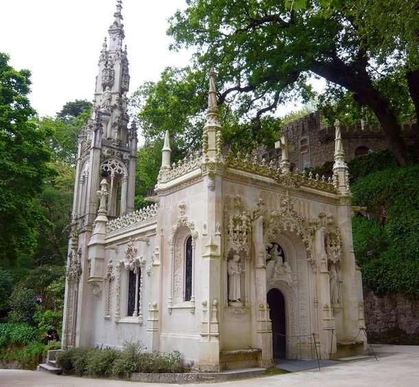 The Chapel at Quinta da Regaleira - Sintra Portugal - by Italian architect Luigi Manini - Completed