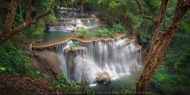 The Clearing Huai Mae Khamin Waterfall in Kanchanaburi Thailand  Photo by Gavin Hardcastle
