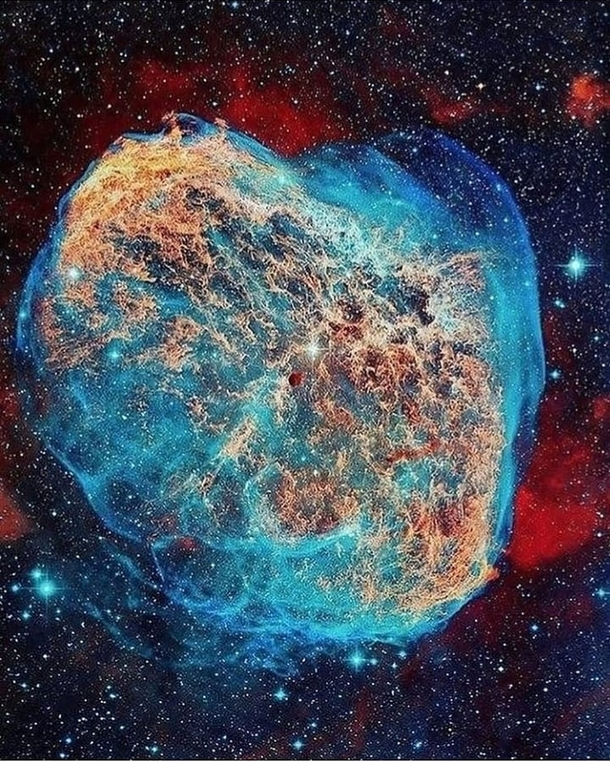 The Crescent Nebula  CreditHubble NASA