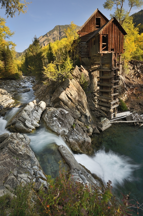 The Crystal Mill Crystal Colorado  by John Fowler  rHI_Res link in comments