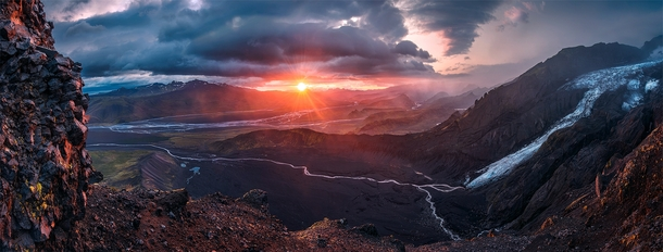 The Dark Realm of Mordor Iceland Photo by Max Rive