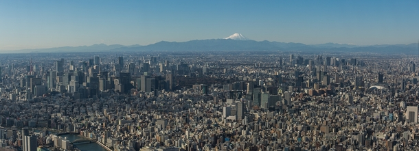The density of Tokyo is incredible