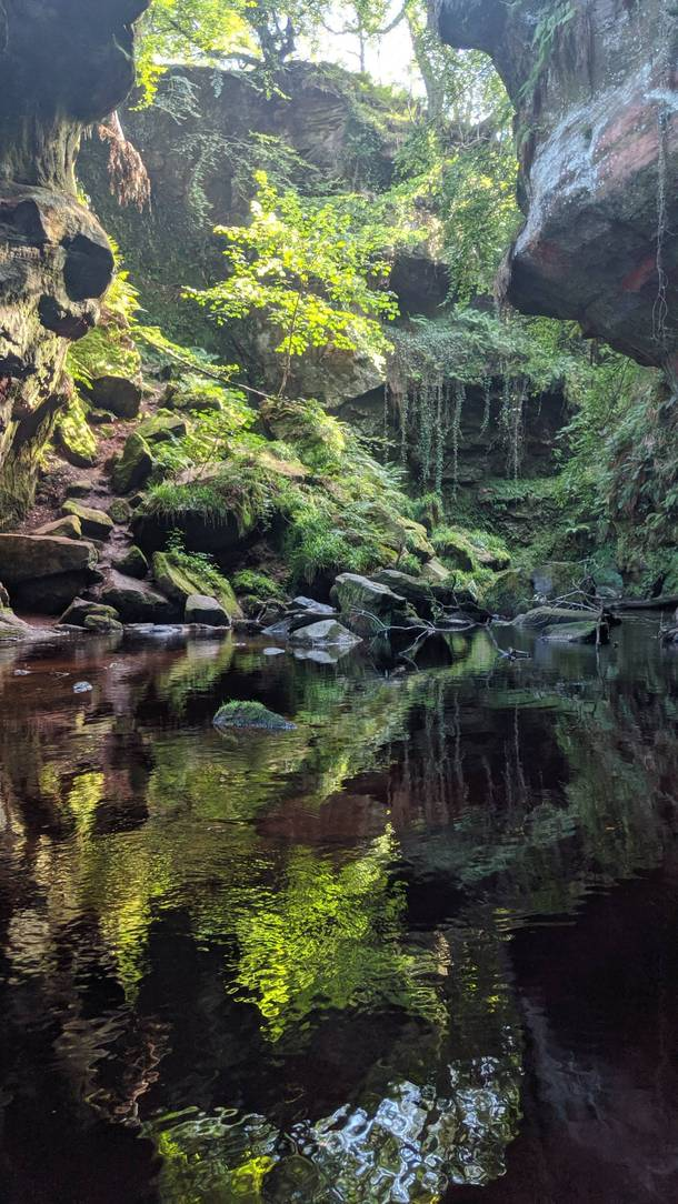 The devils pulpit Kilearn Scotland   x  probably the best picture I have ever taken