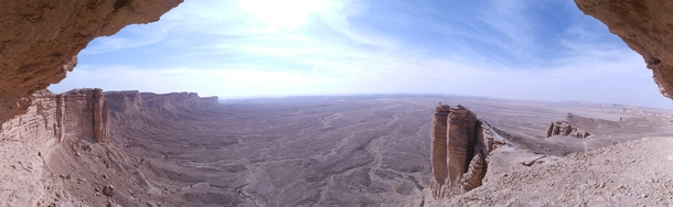 The Edge of the World near Riyadh SA  x