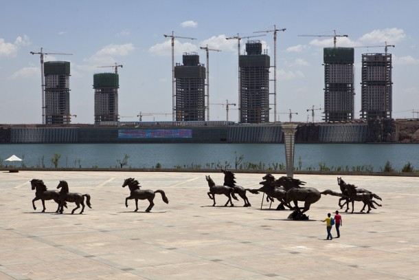 The Ghost City Of Ordos China  Over a million new residences were developed in the s during a regional mining boom With mines empty inhabitants have moved on