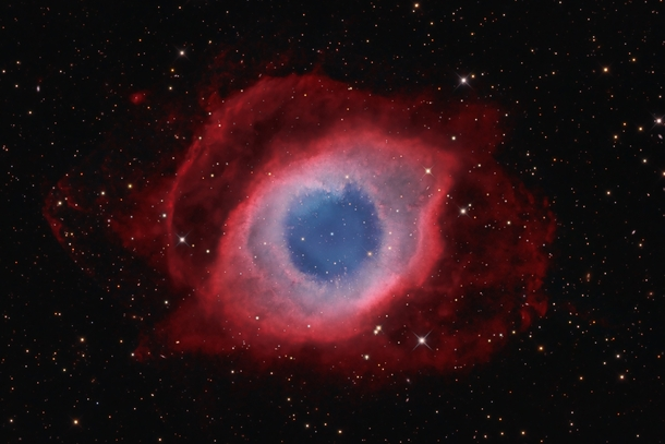 The Helix Nebula captured by David Fitz-Henry from Australia