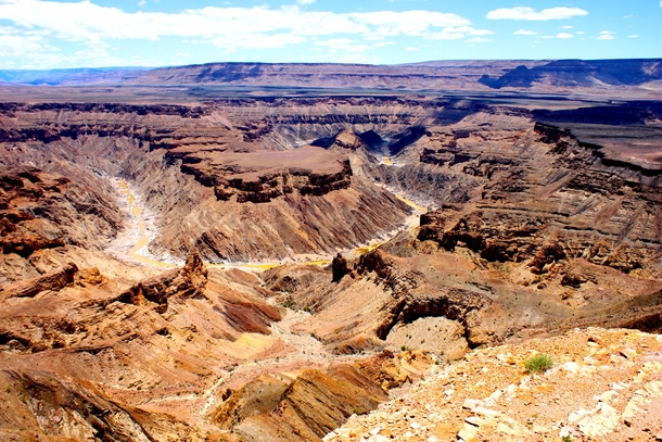The largest canyon in Africa Fish River Canyon Namibia  x