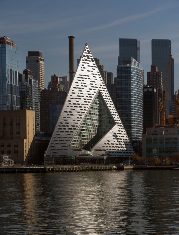 The new VIA  West in Manhattan Bjarke Ingels Group