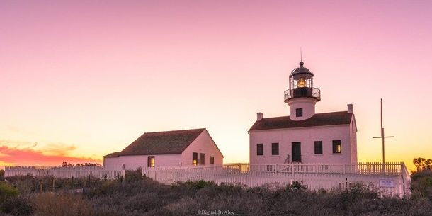 The Old Point Loma Lighthouse San Diego