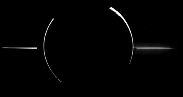 The rings of Jupiter out of all the images of planets from NASA this is one of the coolest