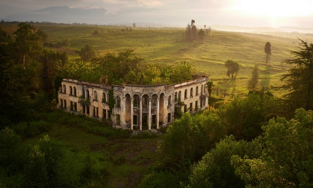 The ruins of a college in Gali Abkhazia  by Amos Chapple x-post from rMostBeautiful