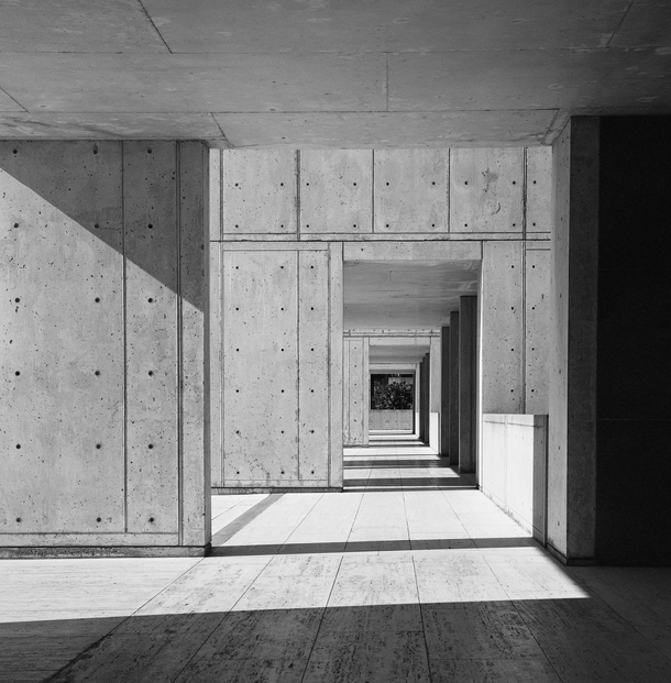 a study on the salk institute by louis i kahn A reading of louis kahn's salk institute laboratories concrete construction of the new east building at the salk institute for biological studies in la.