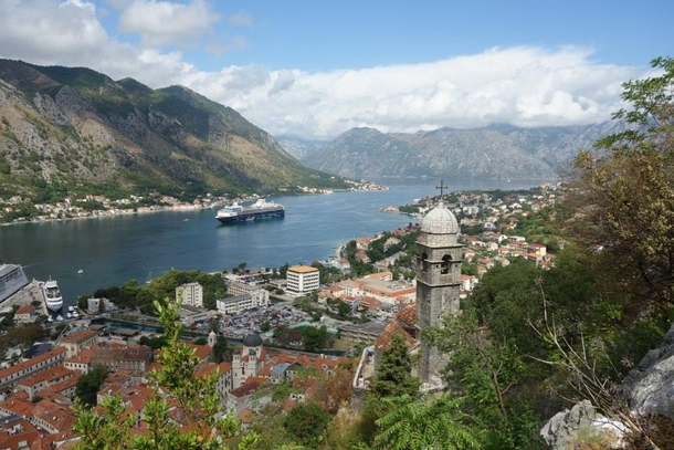 The scenic city of Kotor Montenegro