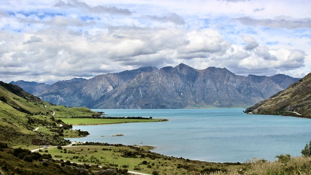 The Scenic Route in Lake Hawea New Zealand  Instagram onbphoto