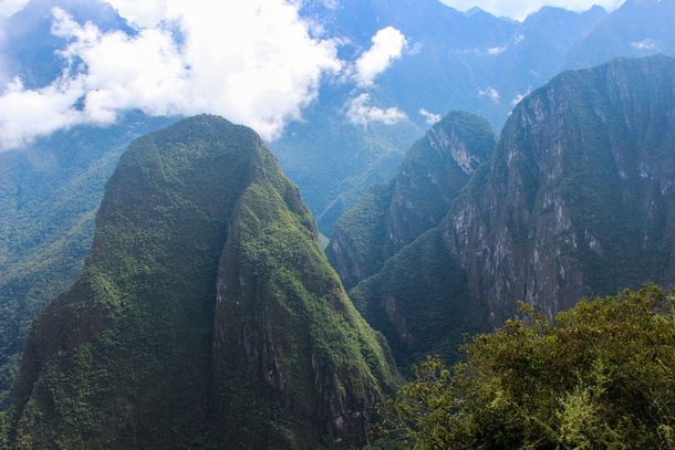 The side of Machu Picchu you dont see