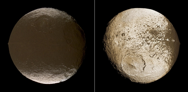 The Two Faces of Iapetus