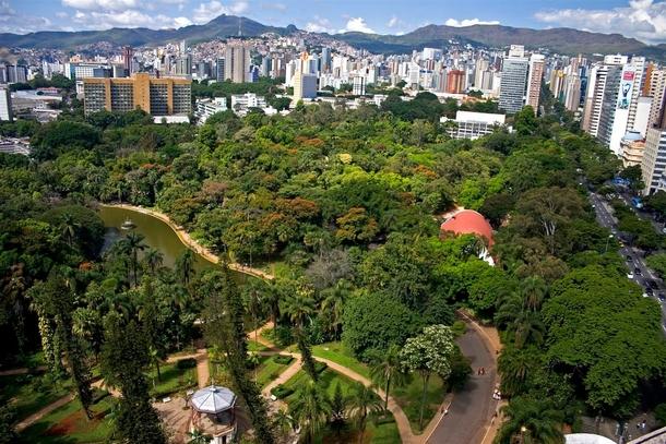 Belo Horizonte Minas Gerais fonte: photorator.com