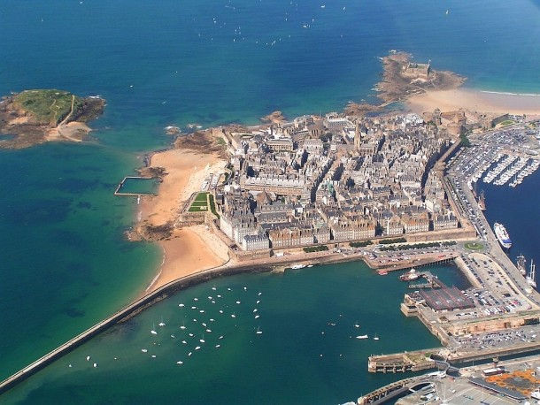 The Walled City Saint-Malo France