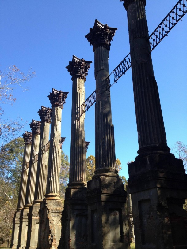 The Windsor Ruins outside Port Gibson MS