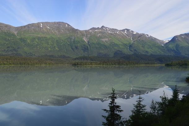 Third shot from the train ride from Anchorage to Seward