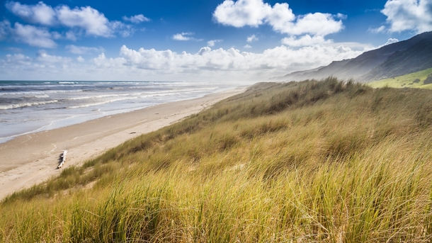 This Sub needs more Beaches Ripiro Beach - NZs longest drivable beach And sorry it is yet another New Zealand shot