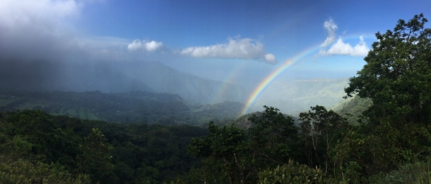 This whole country is a postcard Panoramic near Monteverde Costa Rica