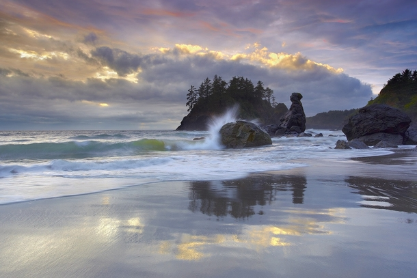 Trinidad beach Northern California photograph by Patrick Smith
