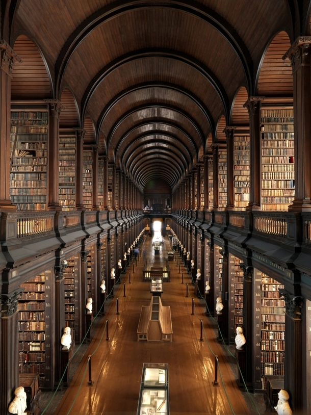 Trinity College Old Library Dublin Ireland