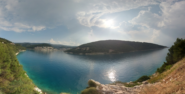 Two hours after strong winds and light rain the sun was once again scorching  Puia Bra Croatia