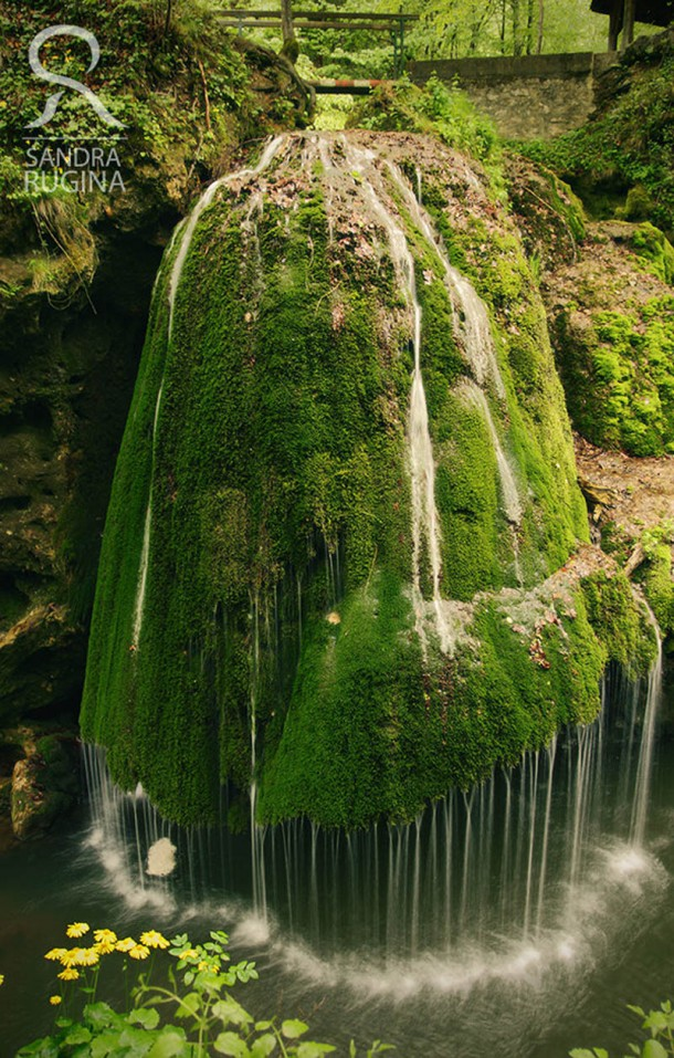 Waterfall in Carass Severin Romania