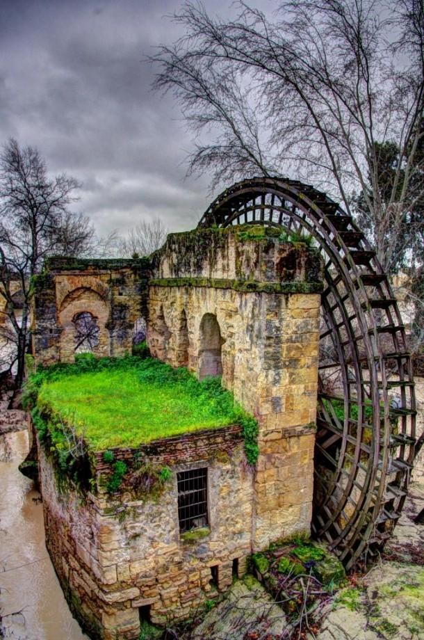 Waterwheel cordoba spain photorator - Inmobiliarias en cordoba espana ...