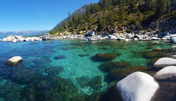 Went looking for Secret Cove this weekend Was not disappointed Lake Tahoe NV