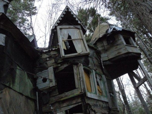 Whimsical Abandoned House In Nova Scotia Canada Old Photo