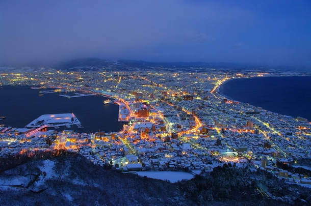 Hakodate Japan  city images : ... evening in hakodate japan tags city winter evening hakodate japan