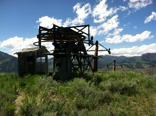 Worlds First Ski Lift - Proctor Mountain Sun Valley Idaho