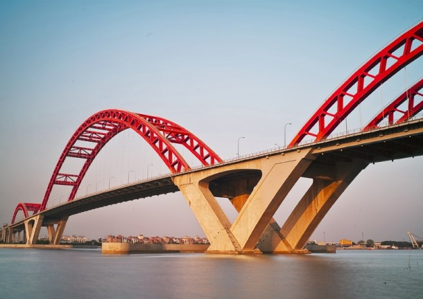 Xinguang Bridge Guangzhoum China