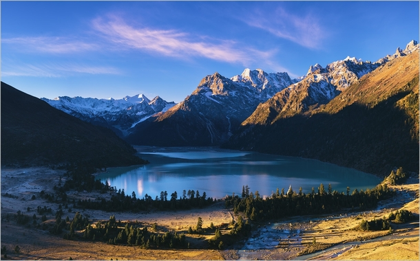 Xinlu Lake Jiulong county Garze Prefecture By crosas