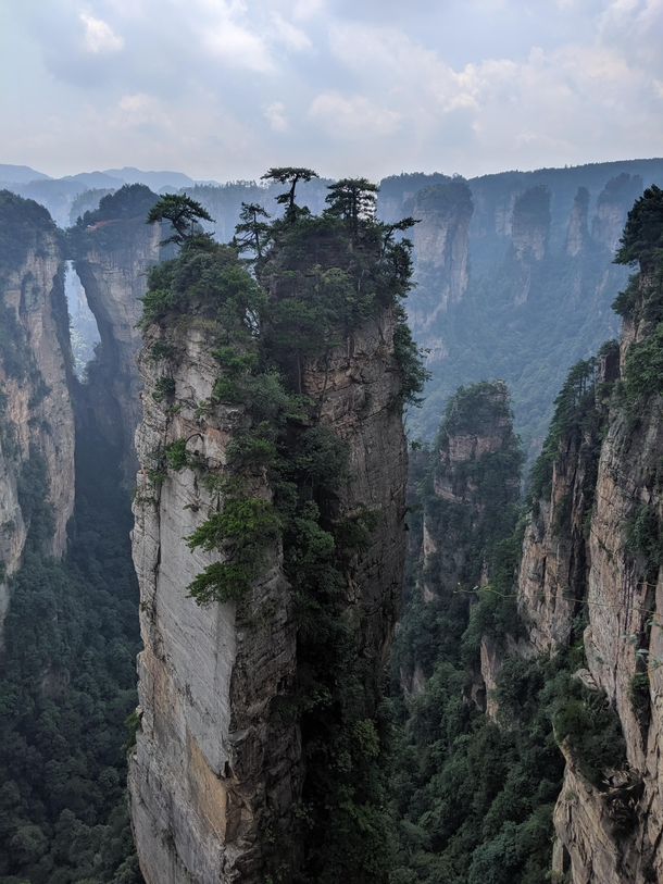 Zhangjiajie National Park highlight of my one-month trip to China