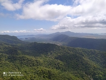 A beautiful view of the mountains of Langkawi Island xpx excuse the watermark