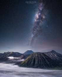 A Night at Mt Bromo Java Indonesia x