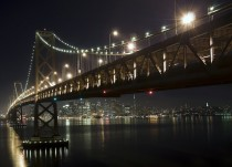 A Night Under The Bay Bridge San Francisco