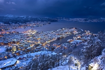 A photo I took of Bergen Norway