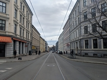 A street in Oslo Norway