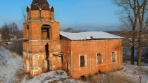 Abandoned Church Russia Vladimir region