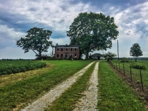 Abandoned Farmhouse I explored today  Indiana