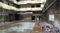 Abandoned Hotel Palace Sao Miguel Azores