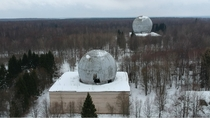 Abandoned missile defense center of Moscow Russia